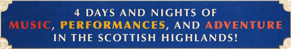 Ben Folds' Scotland Getaway
