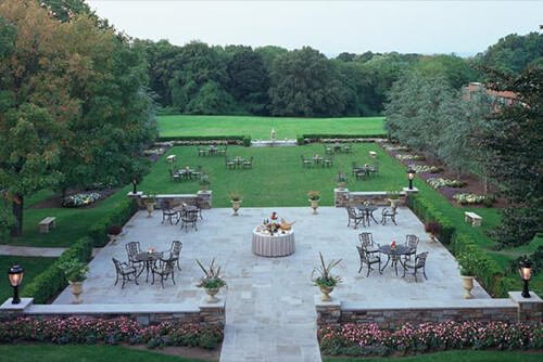 Glen Cove Mansion Patio
