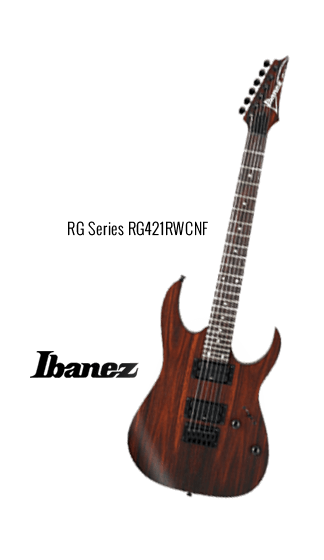 RG Series Ibanez Promo